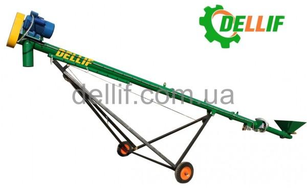 Погрузчик зерновой шнековый 8 м (380 В)