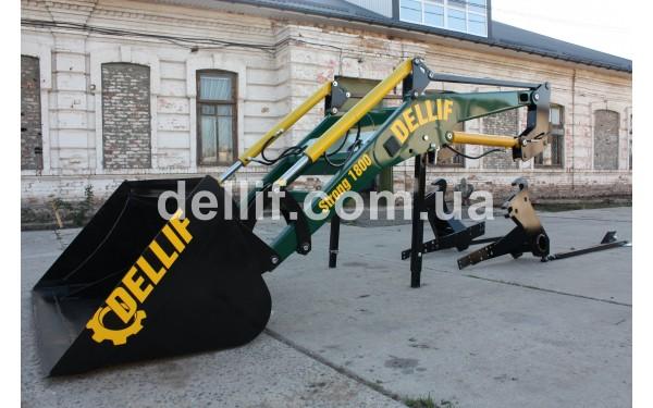 Быстросъёмный фронтальный погрузчик, Кун на трактор МТЗ ЮМЗ Т 40 -КУН Деллиф Стронг 1800