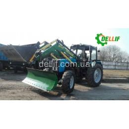Швидкознімний навантажувач КУН на трактор МТЗ 1221 - Делліф Супер Стронг 2000