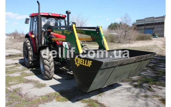 Погрузчик на импортные трактора – Деллиф Супер Стронг 2000