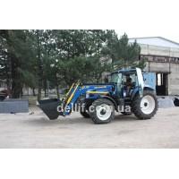 Обзор трактора New Holland TD5.110. Погрузчик на Нью Холланд
