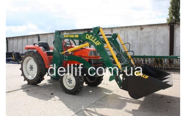 Погрузчик на мини-трактор Деллиф Бейби 500