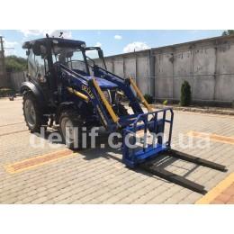 Фронтальний навантажувач КУН на трактор Ловол 504 (Lovol 504) - Dellif Baby 800