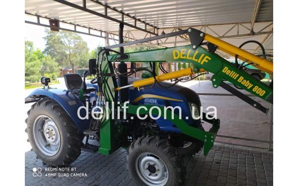 Кун фронтальный на мини-трактор Деллиф Бейби 800