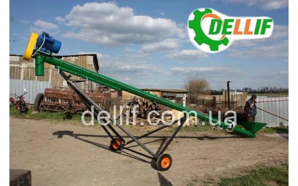 Погрузчик зерновой шнековый 6 м (220 В)