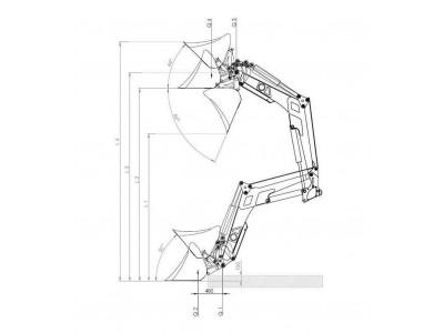 Как правильно определить рабочую высоту навесного фронтального погрузчика (КУН) на МТЗ?